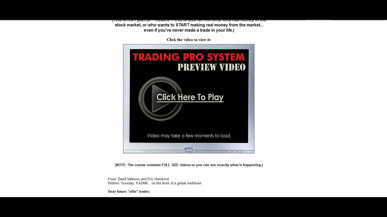 Briefly about binary option trading