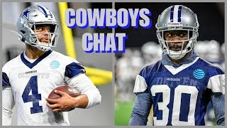 COWBOYS CHAT: Dak SPEAKS! Anthony Brown Preparing; Surprising Cuts? Playoff Odds; NFL News & More!!! thumbnail