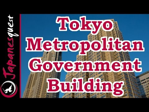Tokyo Metropolitan Government Building Tour! | Japan Video Guide