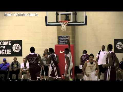 Indiana Basketball Stanford Robinson Findlay Prep plays in The Lebron Skills Academy!!