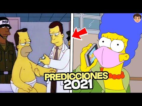 8 PREDICCIONES NUEVAS De Los Simpson 2021