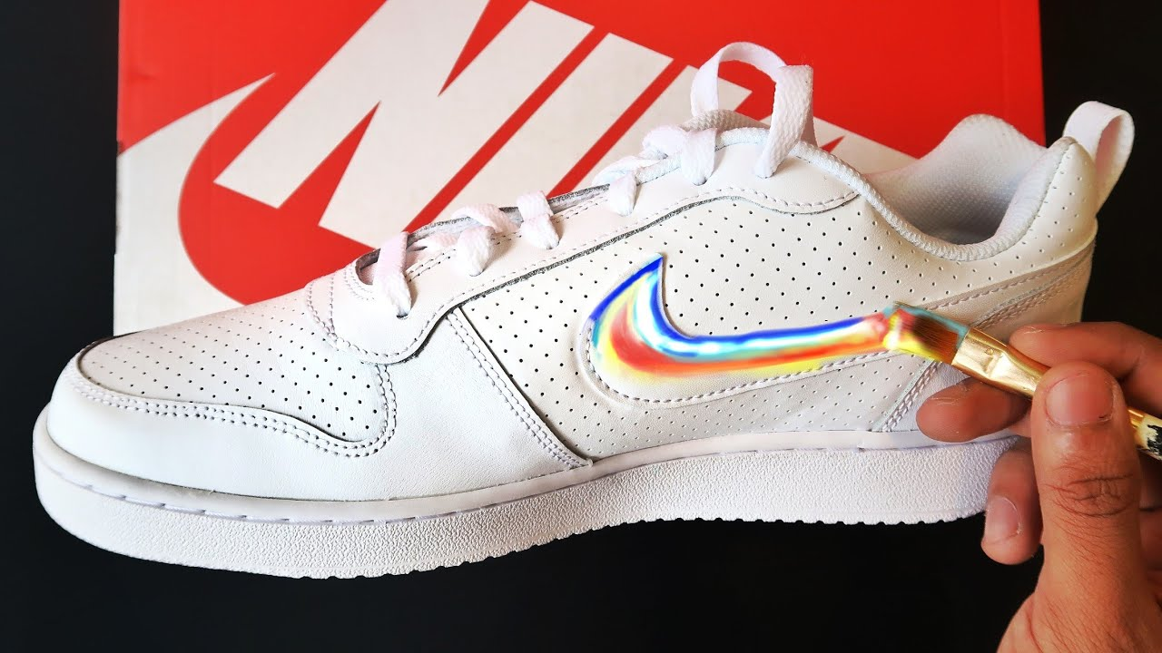 My First NIKE CUSTOM SHOES (SATISFYING