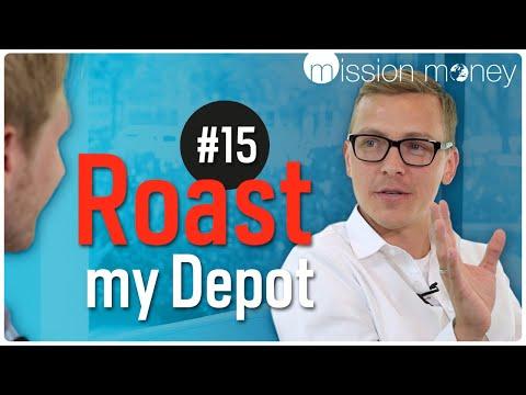 YouTuber zeigt sein Depot – Mission Money kommentiert – Roast My Depot #15