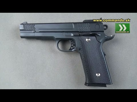 Airsoft Pistol Galaxy G20 Full Metal Manual 6mm