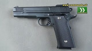 Airsoft Pistol Galaxy G20 Full Metal Manual 6mm