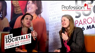 Séverine Valette & Valentine Bardinet co-fondatrices du salon Profession