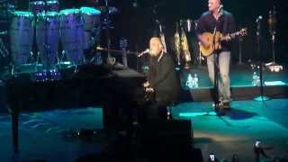 BILLY JOEL PIANO MAN 10/16/13  HUNTINGTON,NY