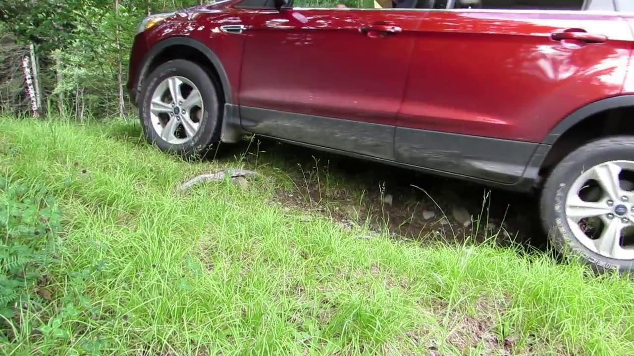 2014 Ford Escape Tires >> Lifted 2014 Ford Escape Hill Climb