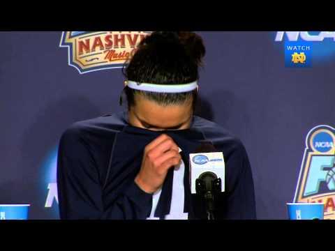 WBB - National Semifinal vs. Maryland Post Game Press Conference