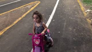 Bebé en moto