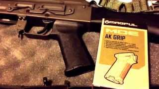 magpul moe ak grip on io inc ak47