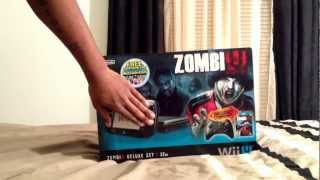 Unboxing the Wii U ZombiU Deluxe Set