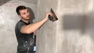 Бюджетная декоративная краска, как нанести своими руками! Видео-урок, мастер класс! Простой ремонт!