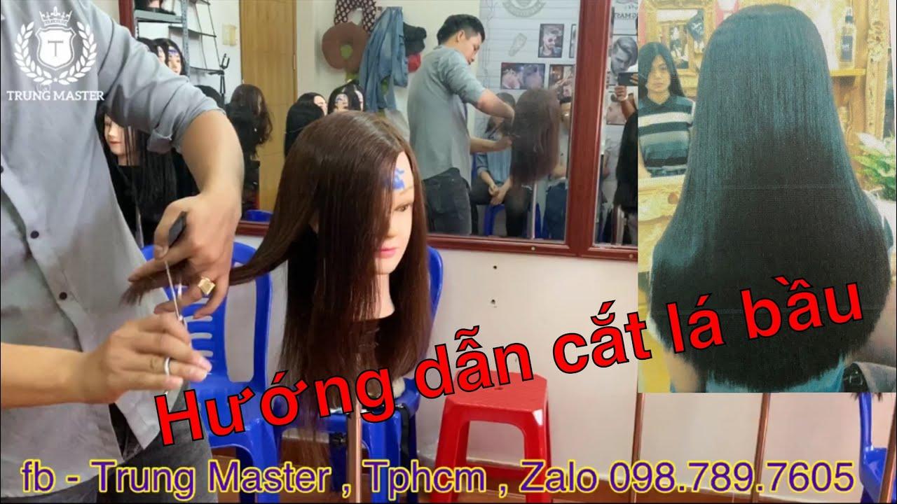 Hướng dẫn cắt tóc lá bầu