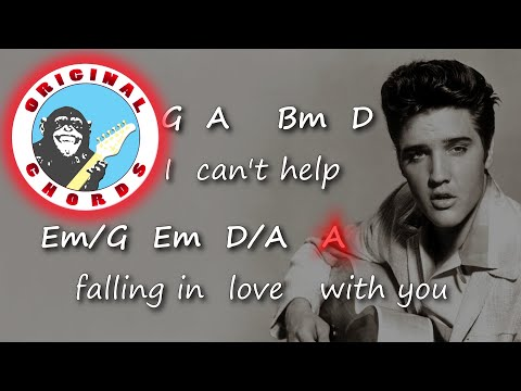 Elvis Presley - Can\'t Help Falling In Love - Chords & Lyrics - YouTube