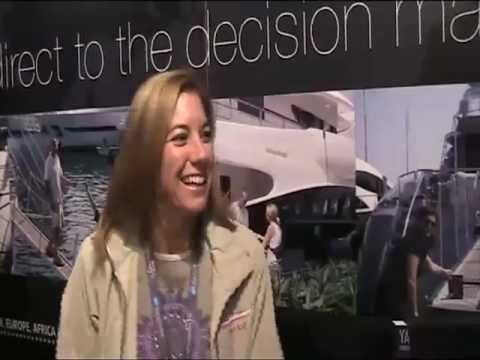 Motor Yacht Two Kay Chief Stewardess 1 Yachting Pages Testimonial Monaco Yacht Show 2010