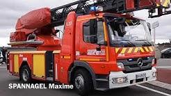 Les sapeurs-pompiers de Cernay-Wittelsheim arrivent vers leur nouvelle caserne