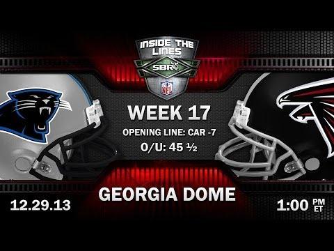 Carolina Panthers Vs Atlanta Falcons NFL Week 17 Preview | 2013 NFL Picks W/ Troy West, Peter Loshak