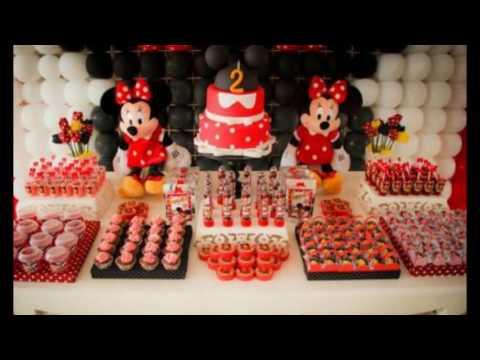 Ideias decoração  Minnie Vermelha Festinha
