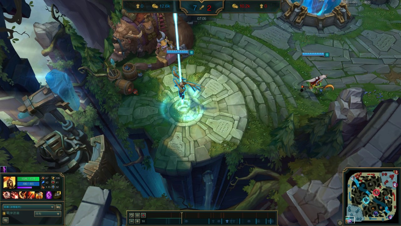 League of Legends S7 凱爾 Kayle top - YouTube