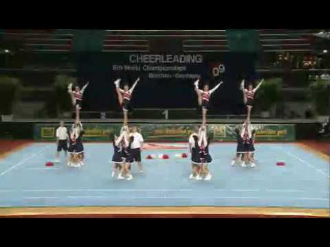Japan  Cheer ALL FEMALE Cheerleading World Championships WC 2009