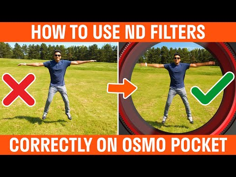How To Use Freewell ND Filters For Osmo Pocket