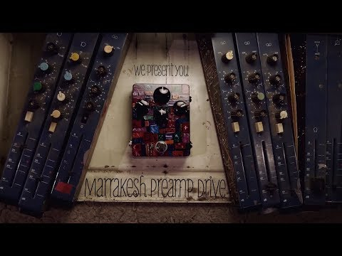 Lateral Phonics at The Magnetone Studio | Marrakesh Preamp