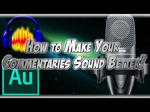 Making Your Voice Sound BETTER! | Audacity & Audition Basics