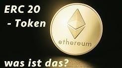 ERC 20 Token Standard - was ist das? Was hat Ethereum damit zu tun?