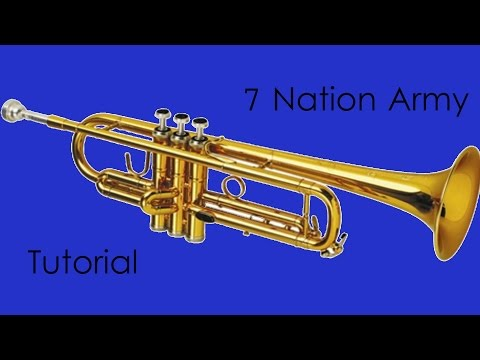 7 Nation Army trumpet tutorial ***EASY***