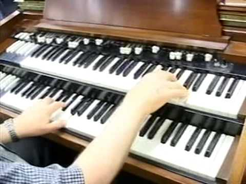 Wally Brown Organ  Because He Lives