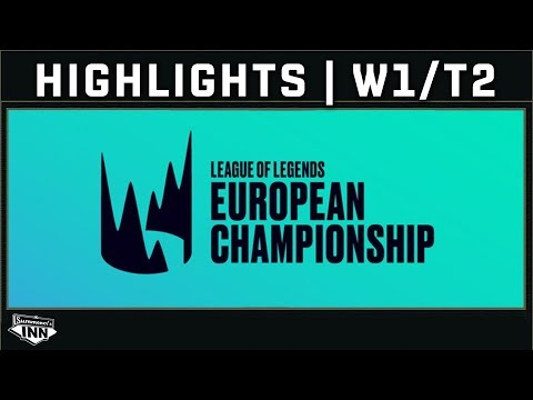 Broadcast Highlights: LEC Spring Split | Woche 1, Tag 2 [GER]