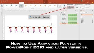 How to Use Animation Painter in Microsoft PowerPoint 2016 / 2019