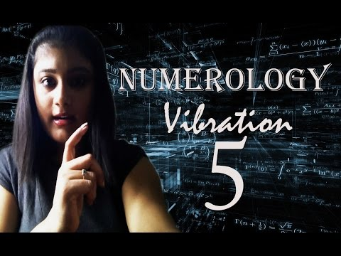 Numerology Number Vibration 5
