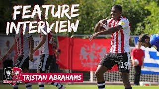 FEATURE: Tristan Abrahams on life at City | Exeter City Football Club
