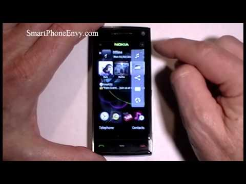 Nokia X6 16GB Video Review