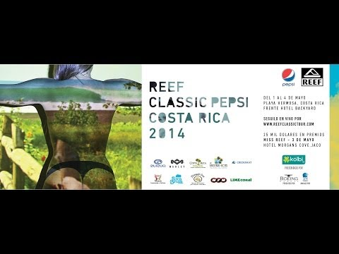 #Surfology - Final Reef Classic Pepsi Costa Rica - Playa Hermosa - Gravedad Zero Tv