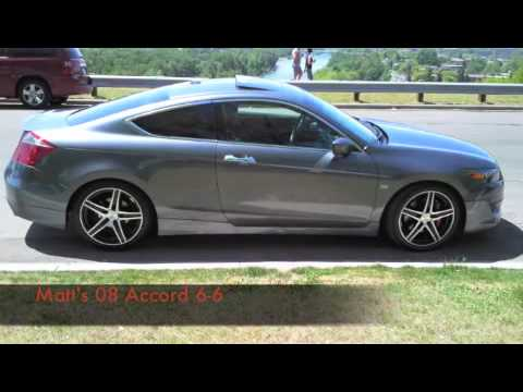 08 Accord Coupe Modified Youtube