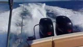 oceanic 960 cabin suzuki 2 x 250 df greece