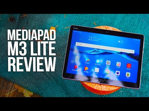 Huawei Mediapad M3 Lite Review - Best Budget Tablet 2017 ?!
