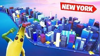 100 RAZY MNIEJSZY NOWY YORK! | Fortnite Creative