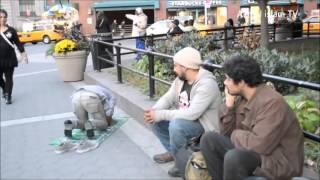 Реакция Американцев на Молитву Ислам-The reaction of Americans to Prayer Islam