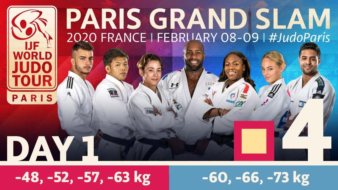 Judo Paris Grand Slam 2020: Day 1 - Tatami 4