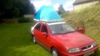 Палатка на крыше автомобиля своими руками.