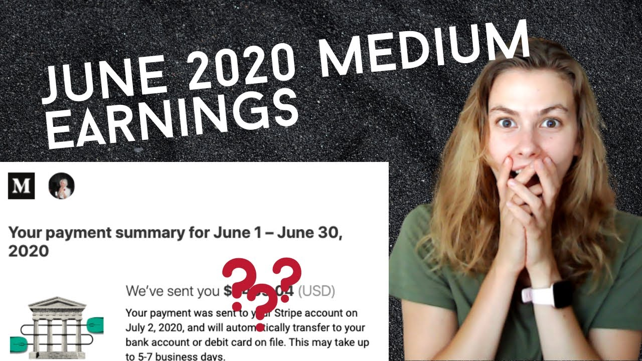 THIS is how much Medium paid me in June 2020 - LIVE reveal with Q&A