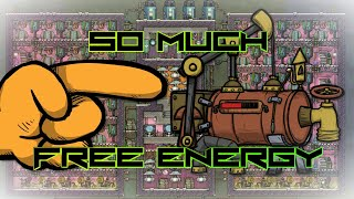 Oxygen Not Included Tutorial - HUGE Free Energy From Sour Gas!