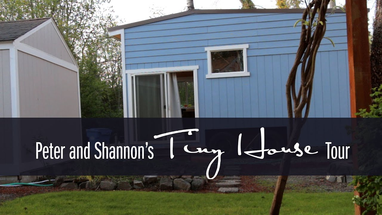 Tiny Home Designs: Peter & Shannon's Tiny House Tour