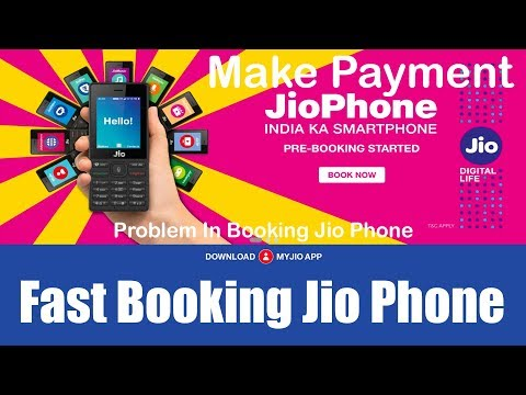 How to Fast Booking Jio Phone Online and Make Payment For Jio Phone