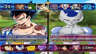 Dragon Ball Z Budokai Tenkaichi 3 - Vegeta SSJ Limit Break VS Frost , Dyspo and Jiren - PS2 MOD