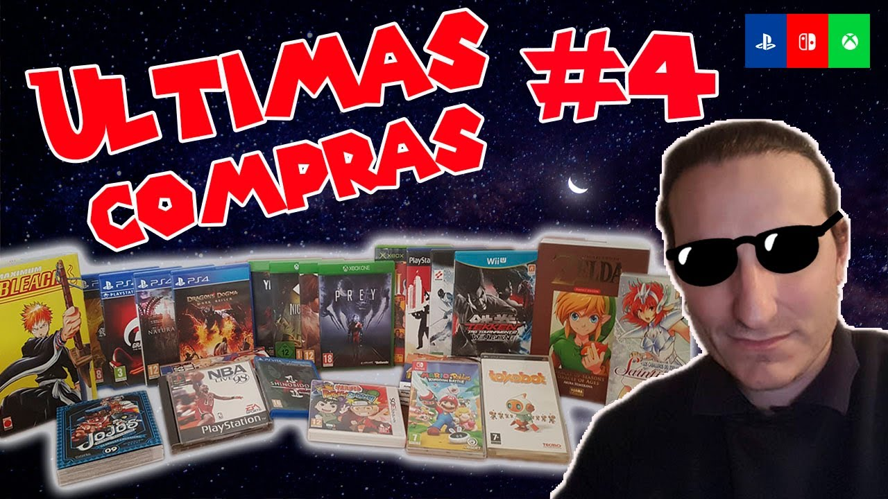 ¡ULTIMAS COMPRAS! #4 || MANGA Y PS4,PS2,XBOX ONE ,GAMECUBE, PSP Y PSX